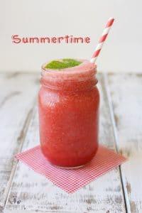 Watermelon mint frozen cooler