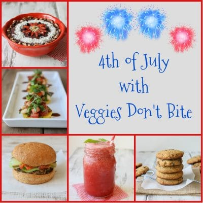 4th of July with Veggies Don't Bite