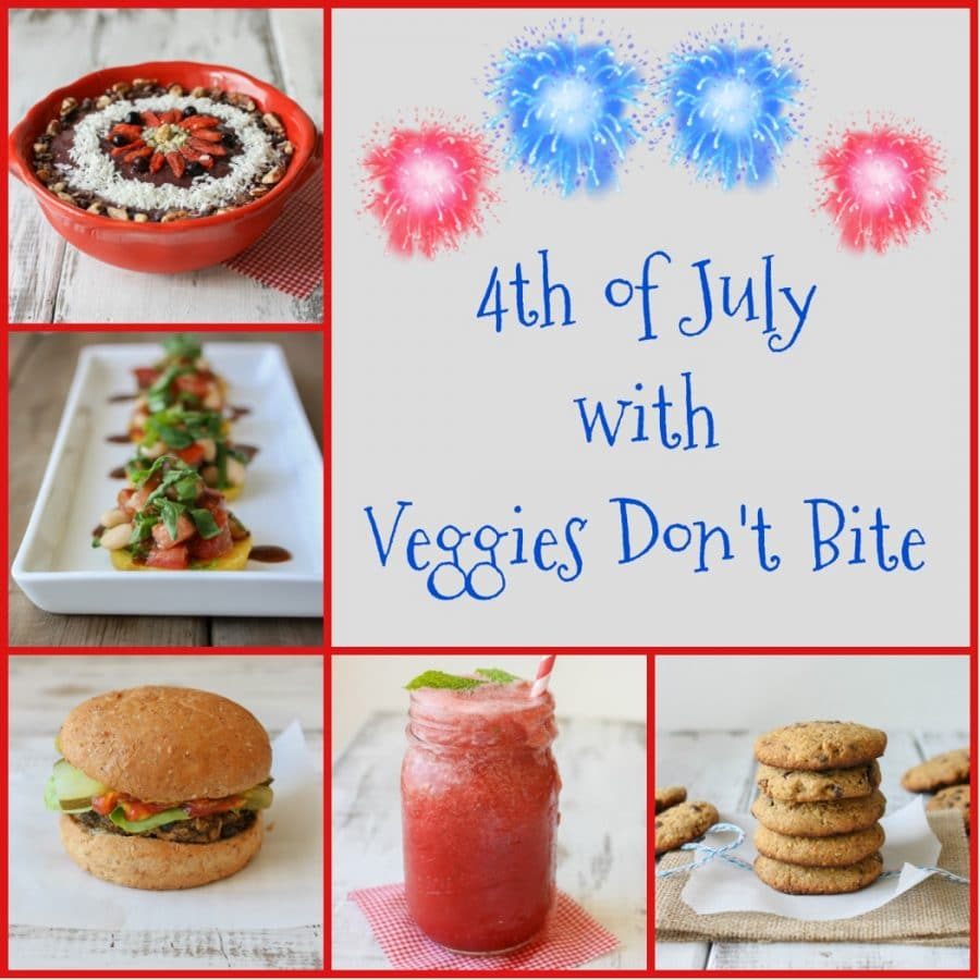 Recipes and menu for the fourth of July