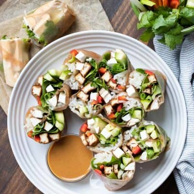 Vegan Summer Rolls Recipe