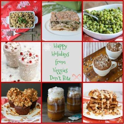 Happy Holidays, Merry Christmas & a Veggies Don't Bite Menu Roundup