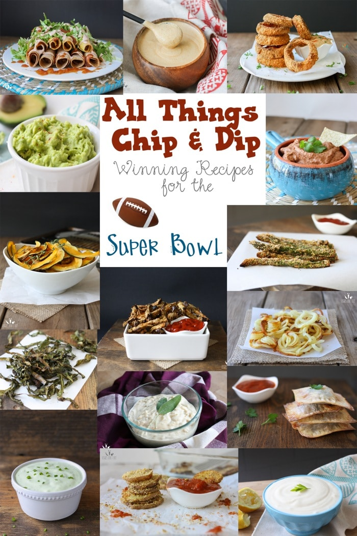 Super Bowl chip and dip appetizer round up