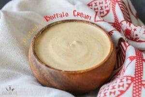 Pistachio buffalo cream