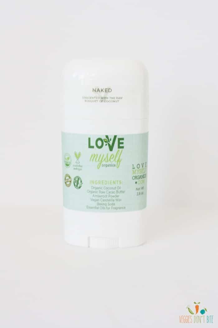 Love Myself Organics All Natural Deodorant