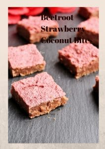 beetroot strawberry brownies
