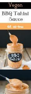 Barbecue tahini sauce
