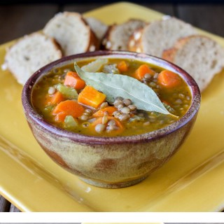 Greek lentil soup fakes