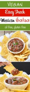Easy fresh Mexican Salsa