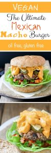 Ultimate Mexican nacho burger