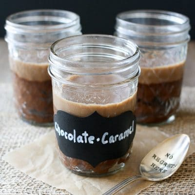 Salted Caramel Chocolate Espresso Protein Pudding‬