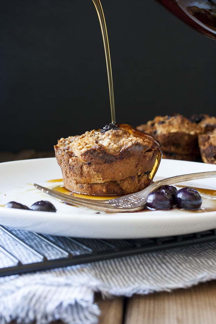 Vegan Blueberry French Toast Breakfast Muffins-Veggies Don ...