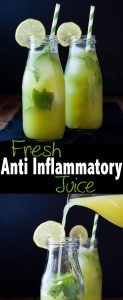 Fresh anti-inflammatory juice