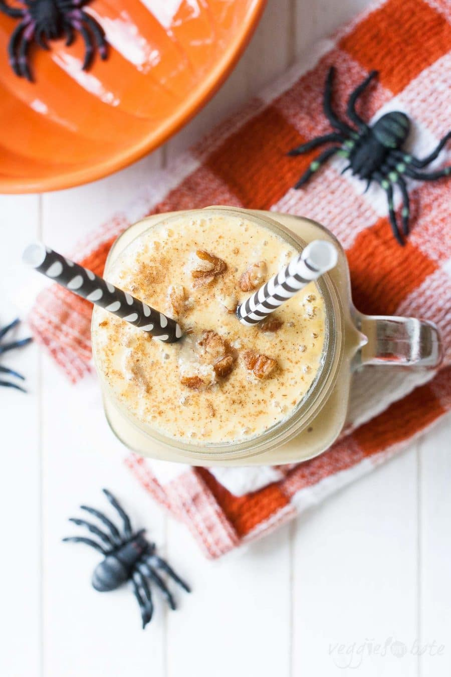 Vegan Pecan Pumpkin Shake from Ghoulish Gourmet by Kathy Hester