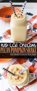 Vegan Pecan Pumpkin Shake from Ghoulish Gourmet by Kathy Hester