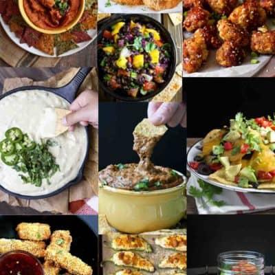 Vegan Game Day Recipes