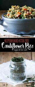 Superfood Stir Fry Cauliflower Rice