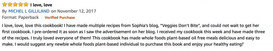 Vegan burgers and burritos cookbook review on amazon