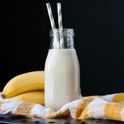 Vegan Banana Milk 3 Ways: Protein, Greens and Antioxidant Boosted!