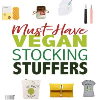 Must-Have Vegan Stocking Stuffers