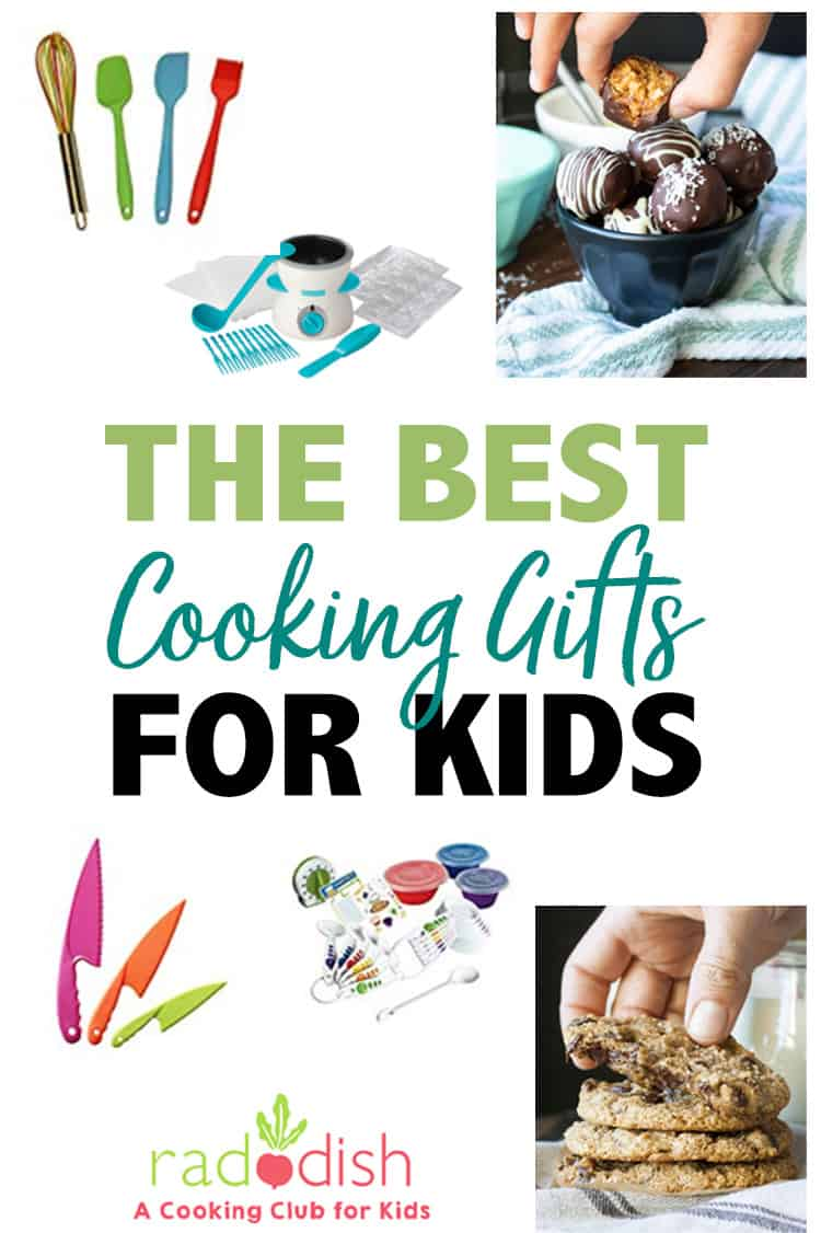 Collage of the best cookies gifts for kids