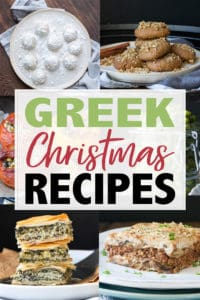 Want to make your holiday dinner tasty and unique? This collection of authentic and amazing Greek Christmas recipes is the perfect solution! #greekrecipes #veganchristmasrecipes