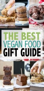 Are you looking for the perfect vegan food gifts for your friends or family members? This guide will help you find something for just about anyone! #vegangifts #foodgifts