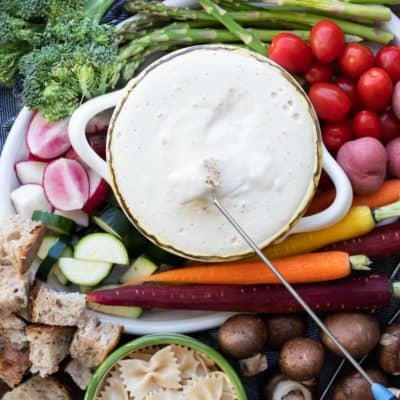 Vegan Cheese Fondue Recipe