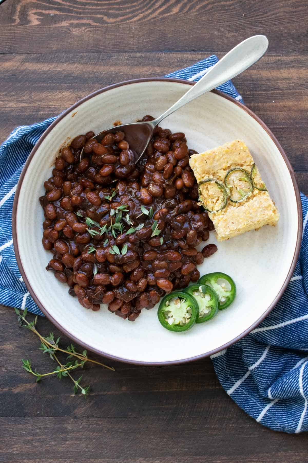 Healthy Vegan Baked Beans Veggies Don T Bite