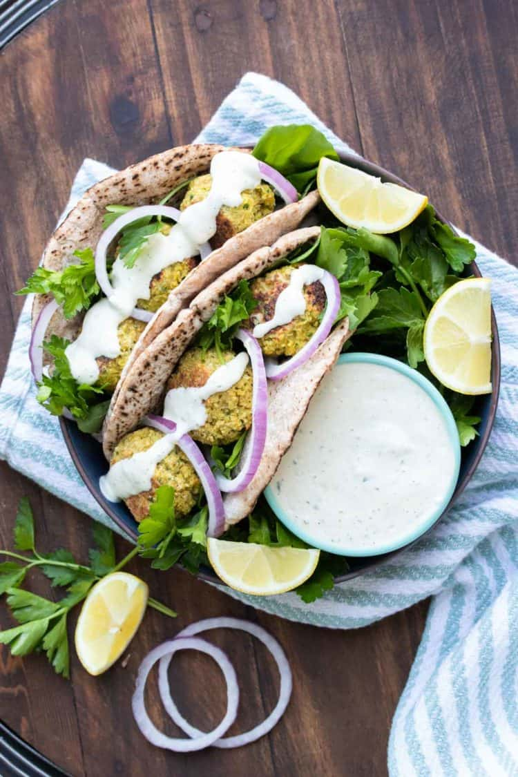 Falafel Sandwich Recipe Veggies Don T Bite