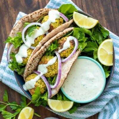 Falafel Sandwich Recipe