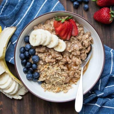 The Best Creamy Vegan Oatmeal Recipe
