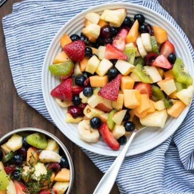 The Best Summer Fruit Salad