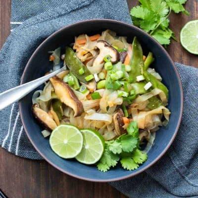 Vegan Stir Fry Noodles