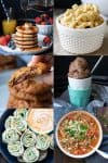 A variety of vegan kid recipes from all types of meals