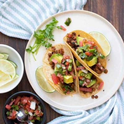 Vegan Lentil Walnut Taco Meat