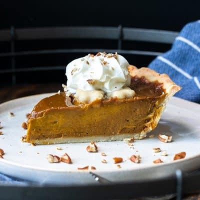 Gluten-Free Vegan Pumpkin Pie Recipe