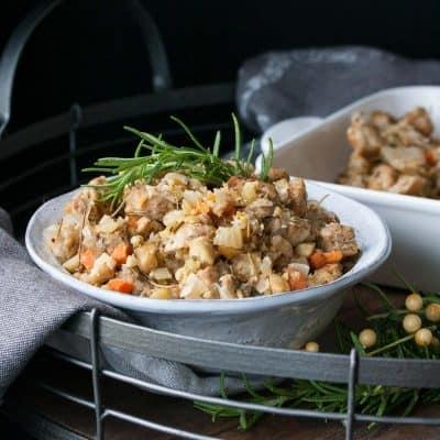 Gluten-Free Vegan Stuffing Recipe