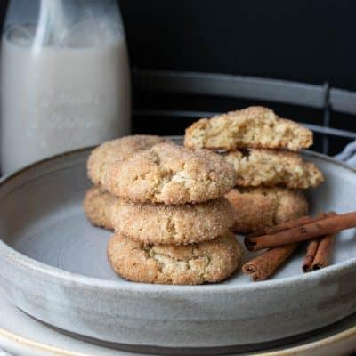 Easy Vegan Gluten-Free Snickerdoodles