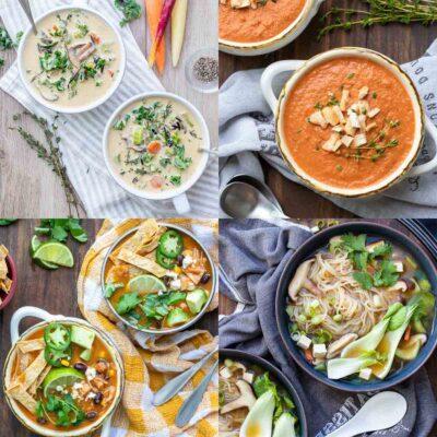 The Best Healthy Vegan Soups