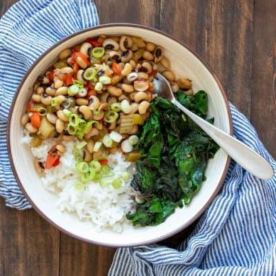 Southern Vegan Black Eyed Peas Recipe