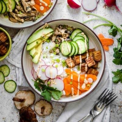Healthy Vegan Sushi Bowl Recipe