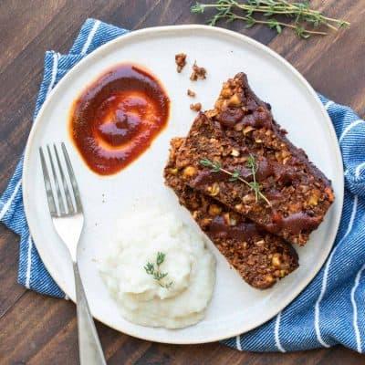 The Best Vegan Lentil Meatloaf