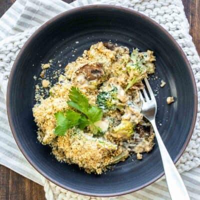 Easy Vegan Broccoli Casserole
