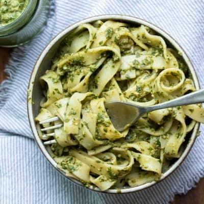 The Best Vegan Basil Pesto Recipe
