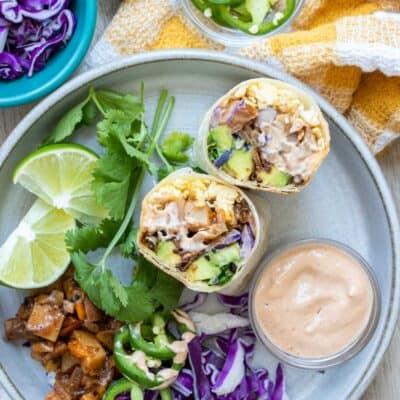 Ultimate Vegan Breakfast Burrito Recipe