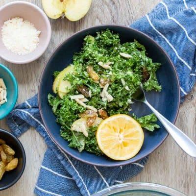The Best Lemon Kale Salad Recipe