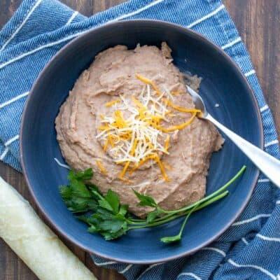 Easy Vegan Refried Beans Recipe