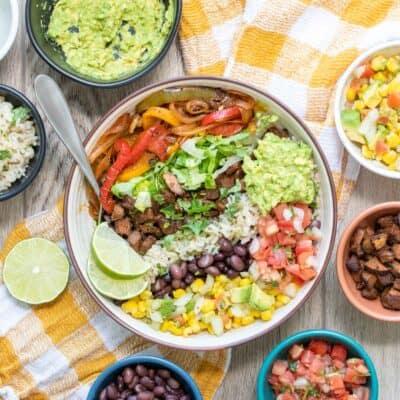 Vegan Burrito Bowl (Chipotle Inspired)