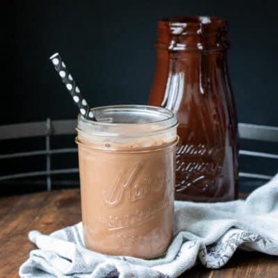 The Best Vegan Homemade Chocolate Milk