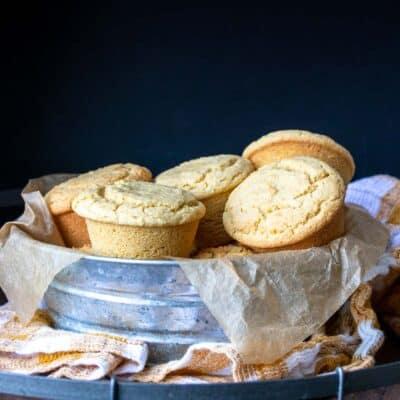 Gluten-Free Vegan Cornbread Muffins